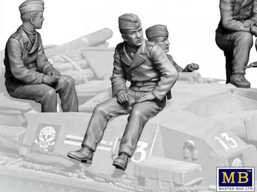 Tanquistas para Stug III (Vista 4)
