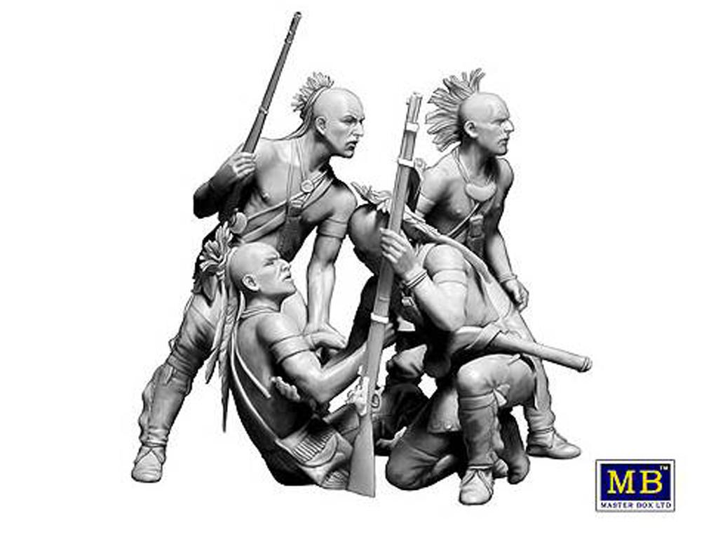 Indios americanos siglo XVIII (Vista 3)