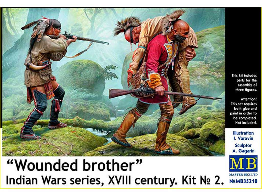 Hermano herido. Serie de Guerras Indias (Vista 1)