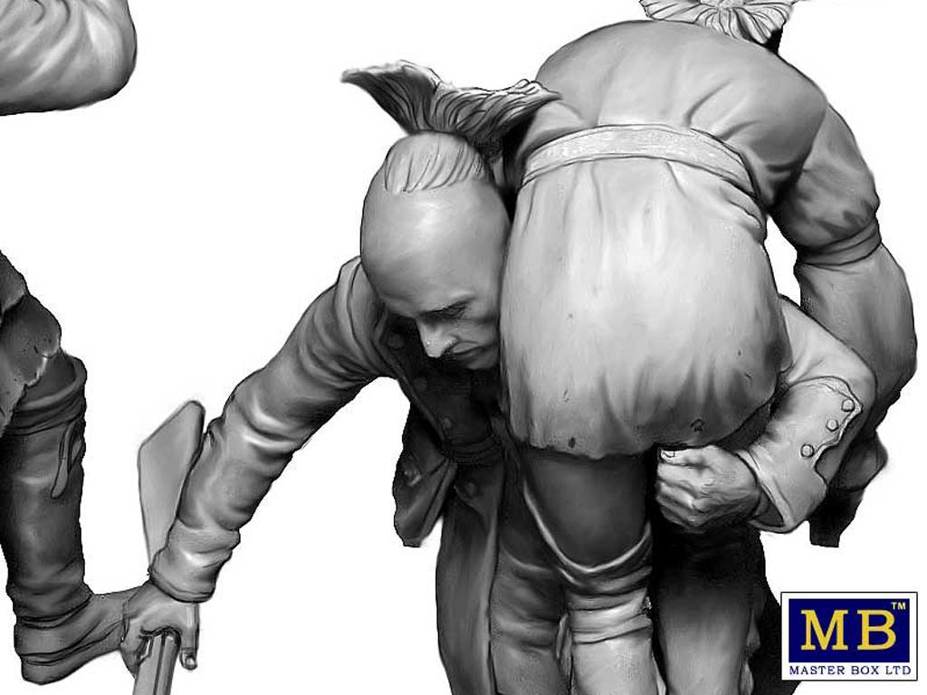 Hermano herido. Serie de Guerras Indias (Vista 2)