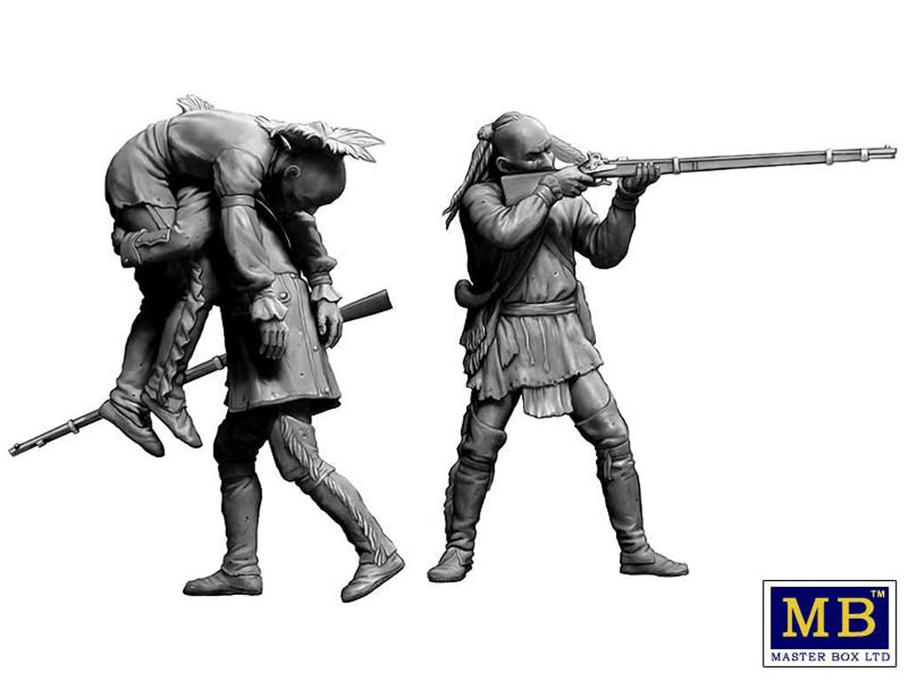 Hermano herido. Serie de Guerras Indias (Vista 4)