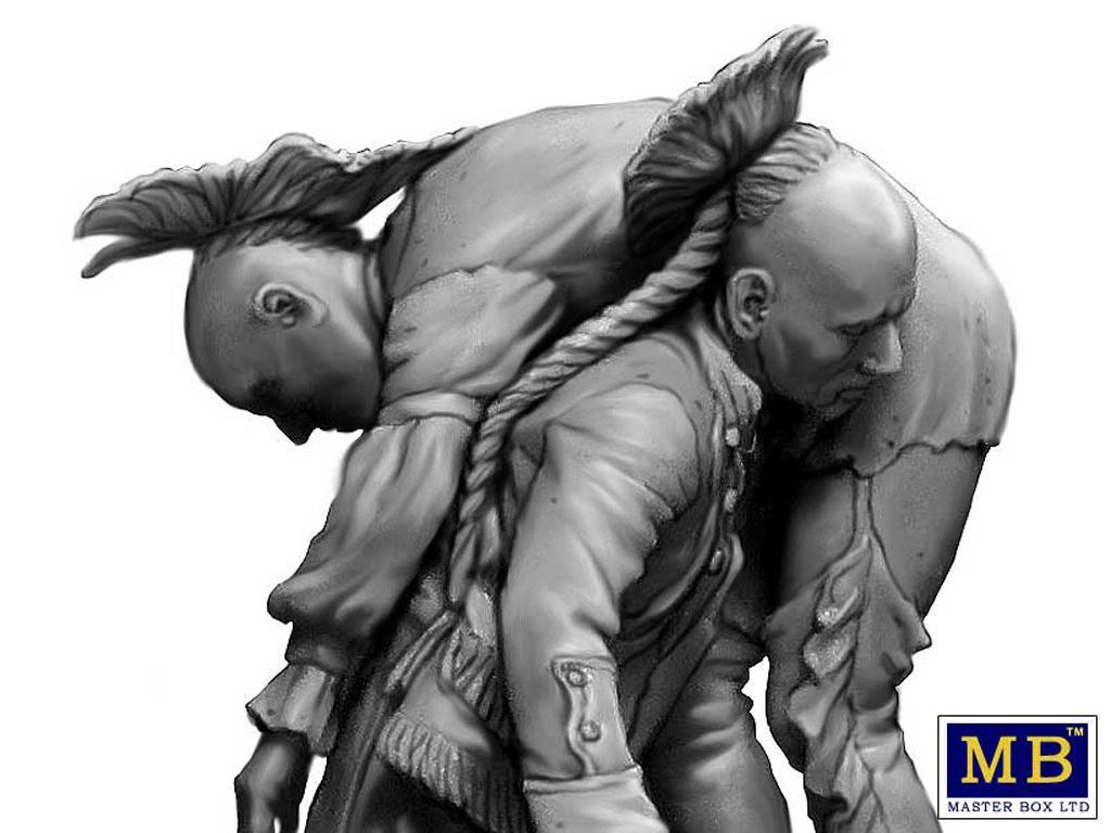 Hermano herido. Serie de Guerras Indias (Vista 6)