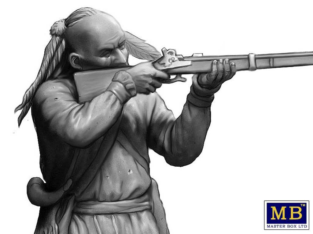 Hermano herido. Serie de Guerras Indias (Vista 7)