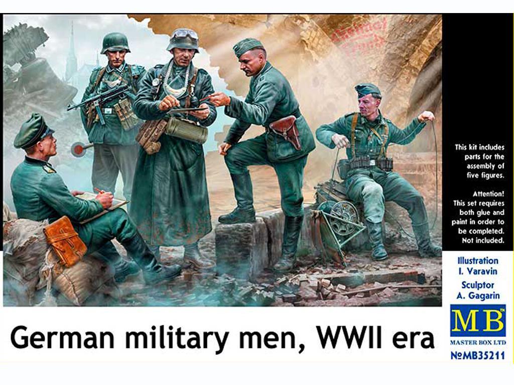 Militares Alemanes (Vista 1)