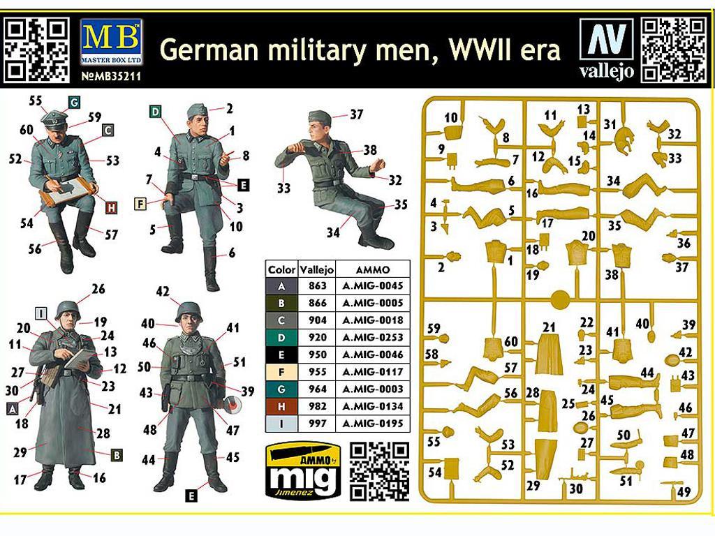 Militares Alemanes (Vista 2)