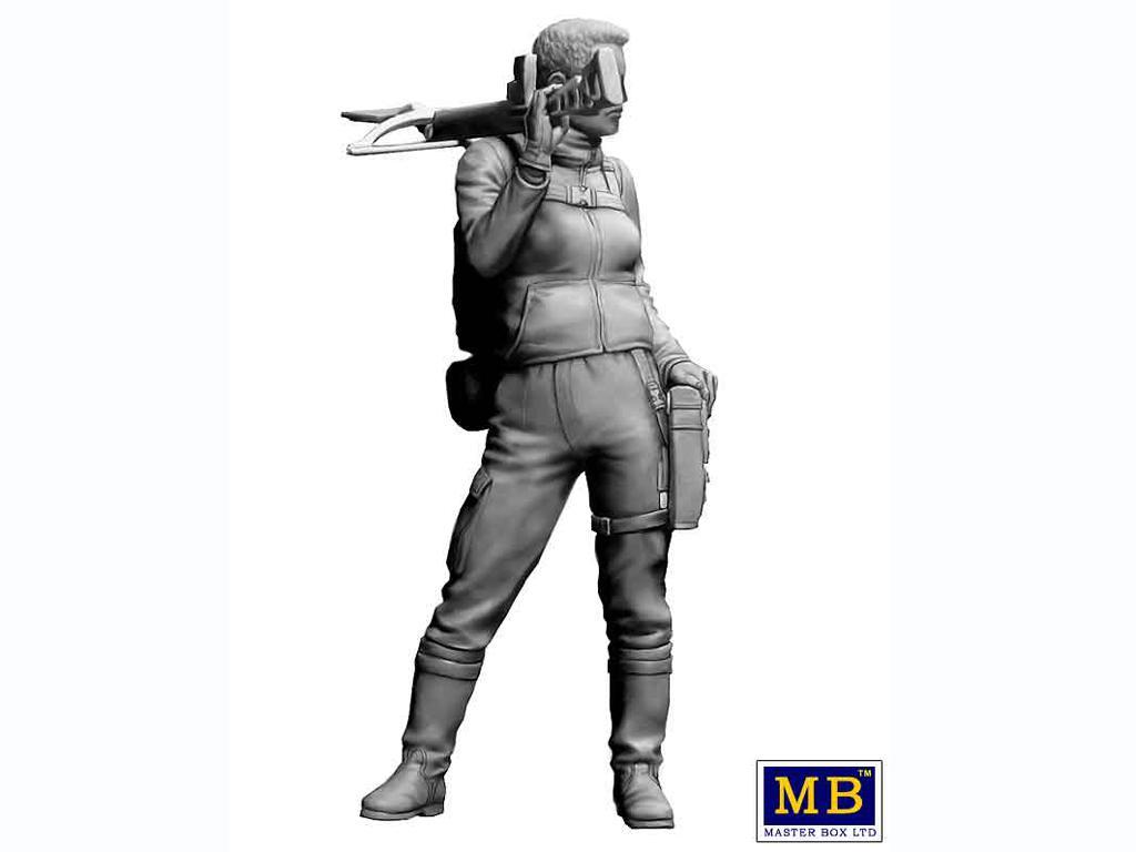 Skull Clan - Asalto a larga distancia. Kit №2. Un nuevo líder. Hanna (Vista 4)