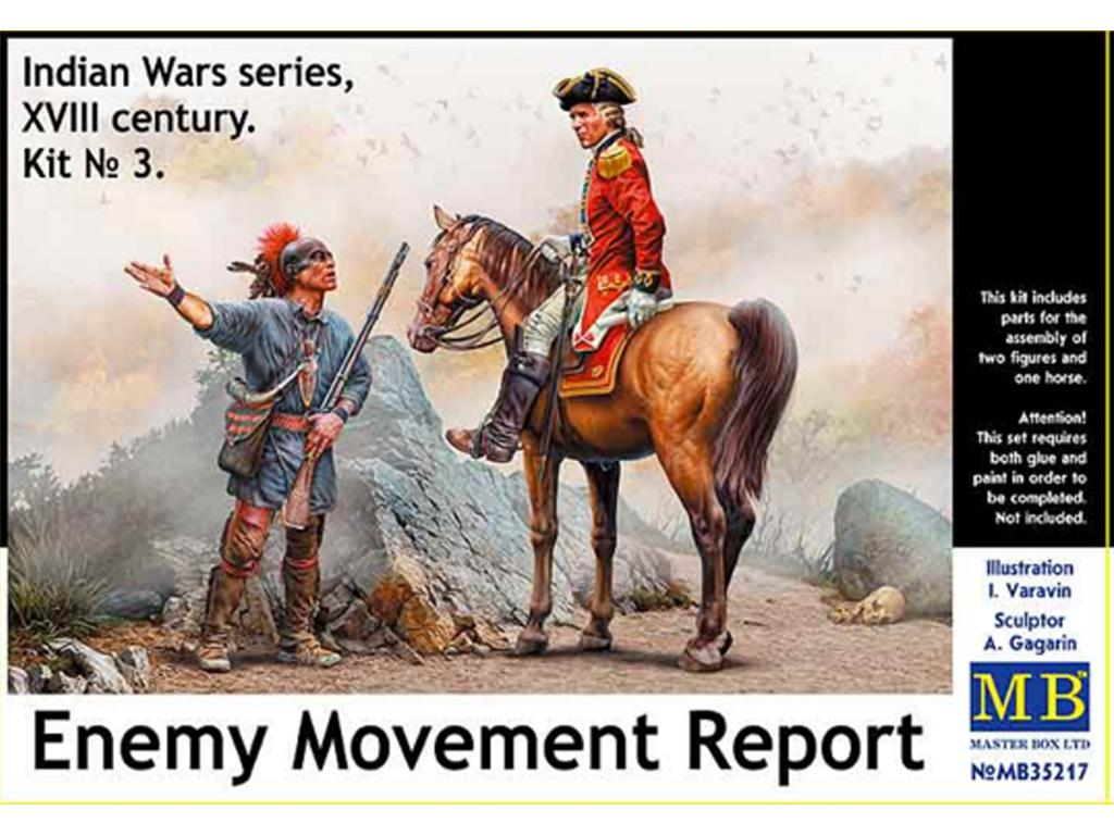 Informe sobre el movimiento del enemigo  (Vista 1)