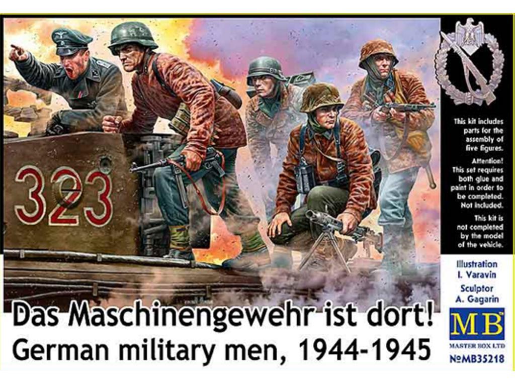 Militares alemanes 1944-1945.  (Vista 1)