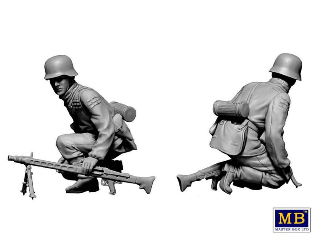 Militares alemanes 1944-1945.  (Vista 2)