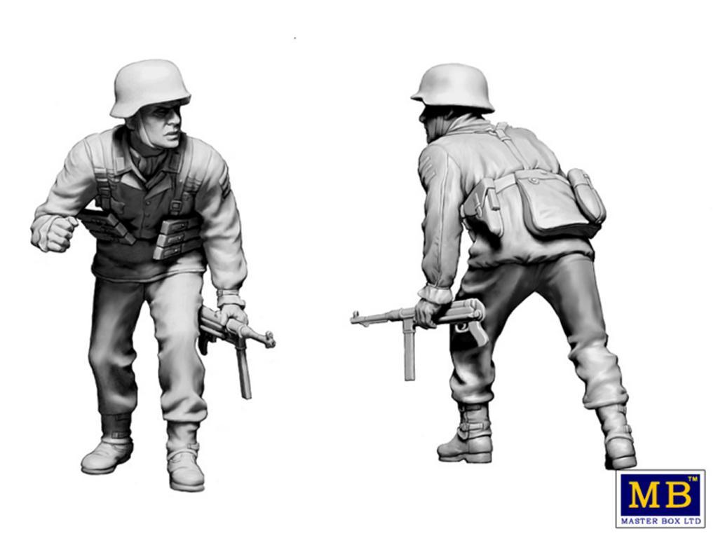 Militares alemanes 1944-1945.  (Vista 5)