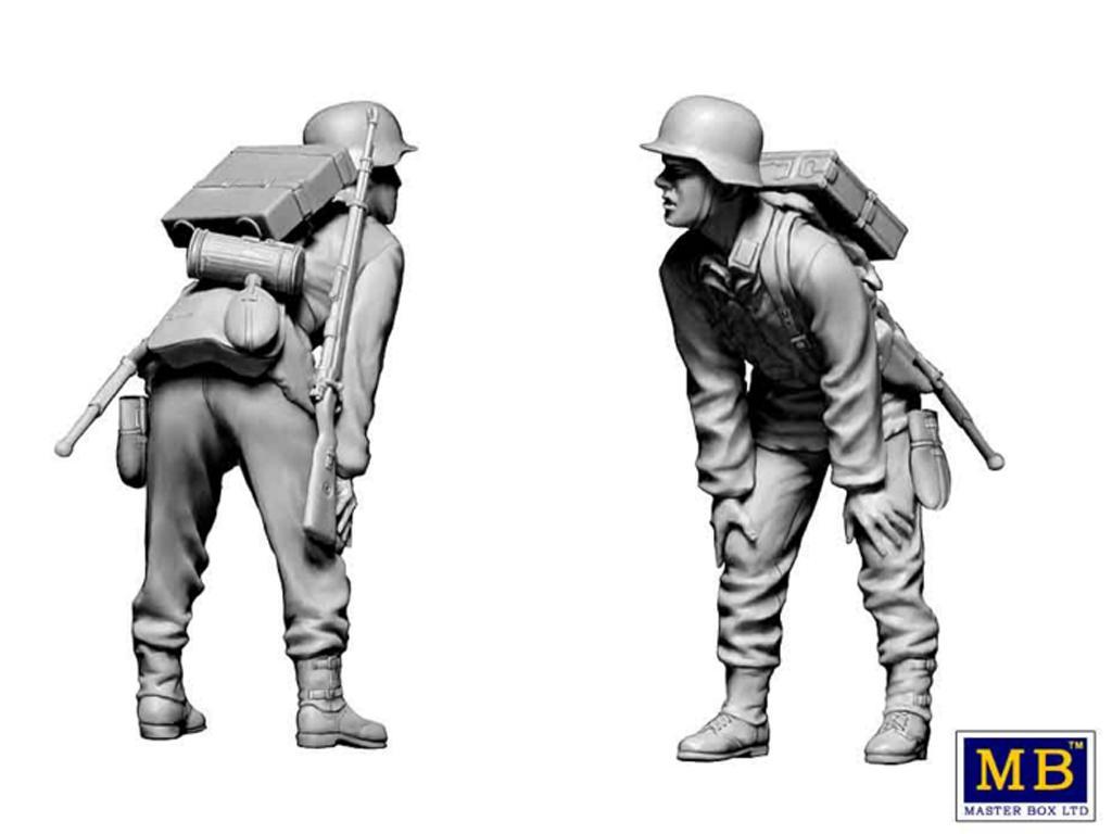 Militares alemanes 1944-1945.  (Vista 7)
