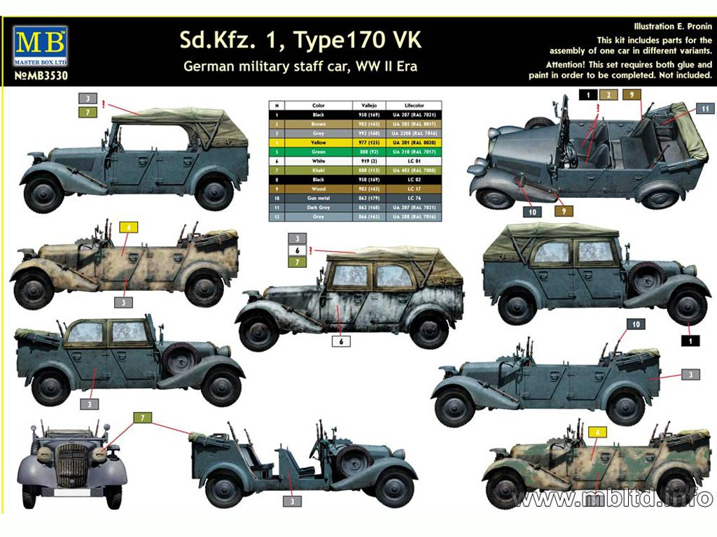 KfZ 1 Type 170 VK (Vista 2)