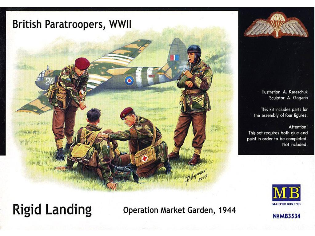 Paracaidistas Britanicos, Rigid Landing (Vista 1)