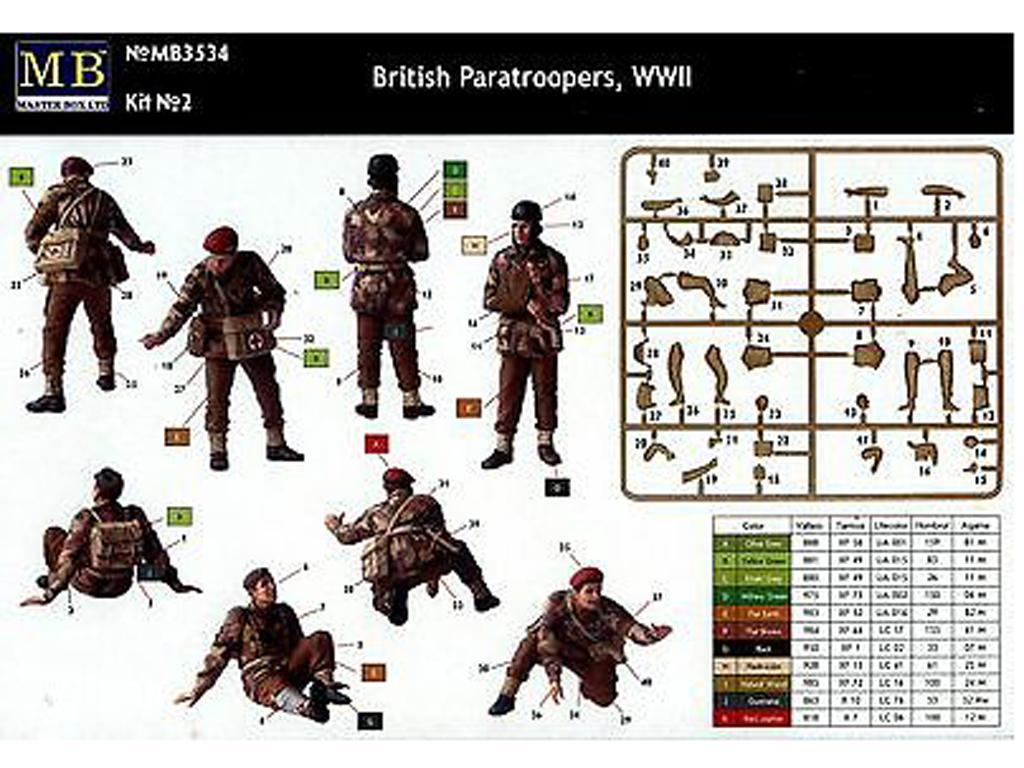 Paracaidistas Britanicos, Rigid Landing (Vista 3)