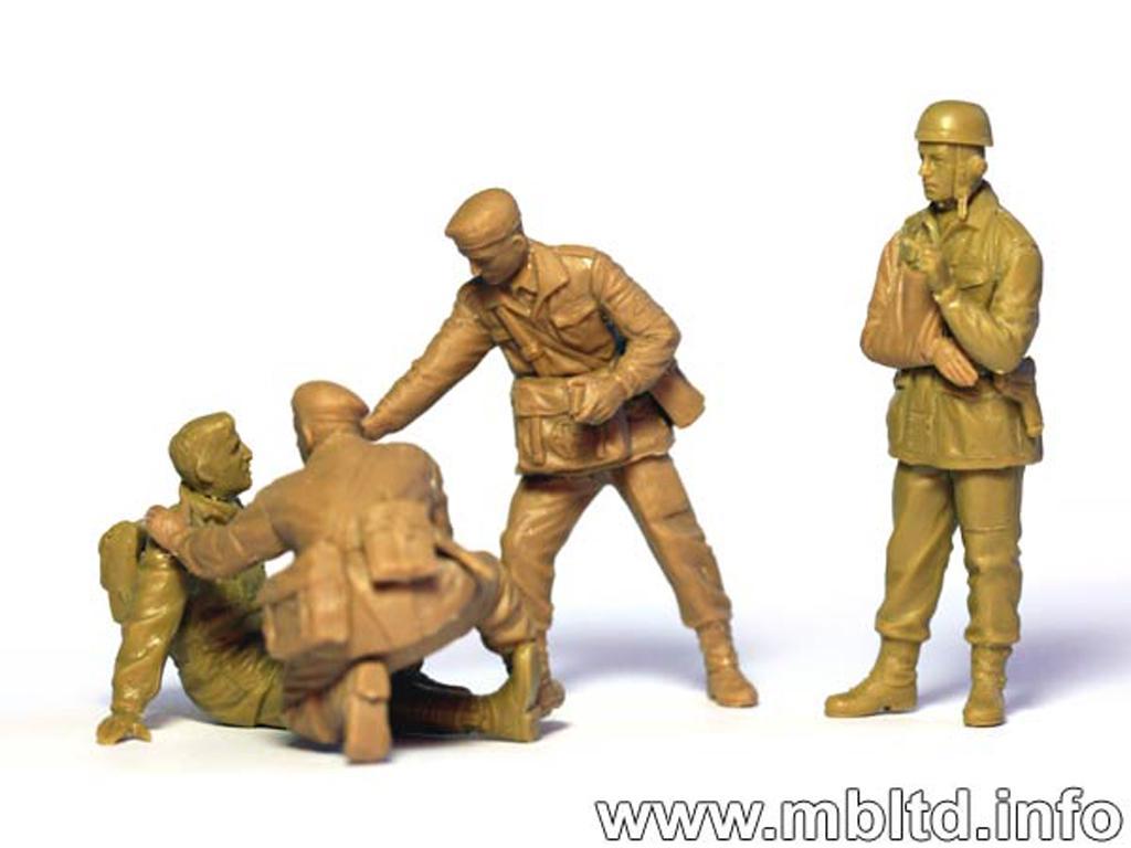Paracaidistas Britanicos, Rigid Landing (Vista 4)