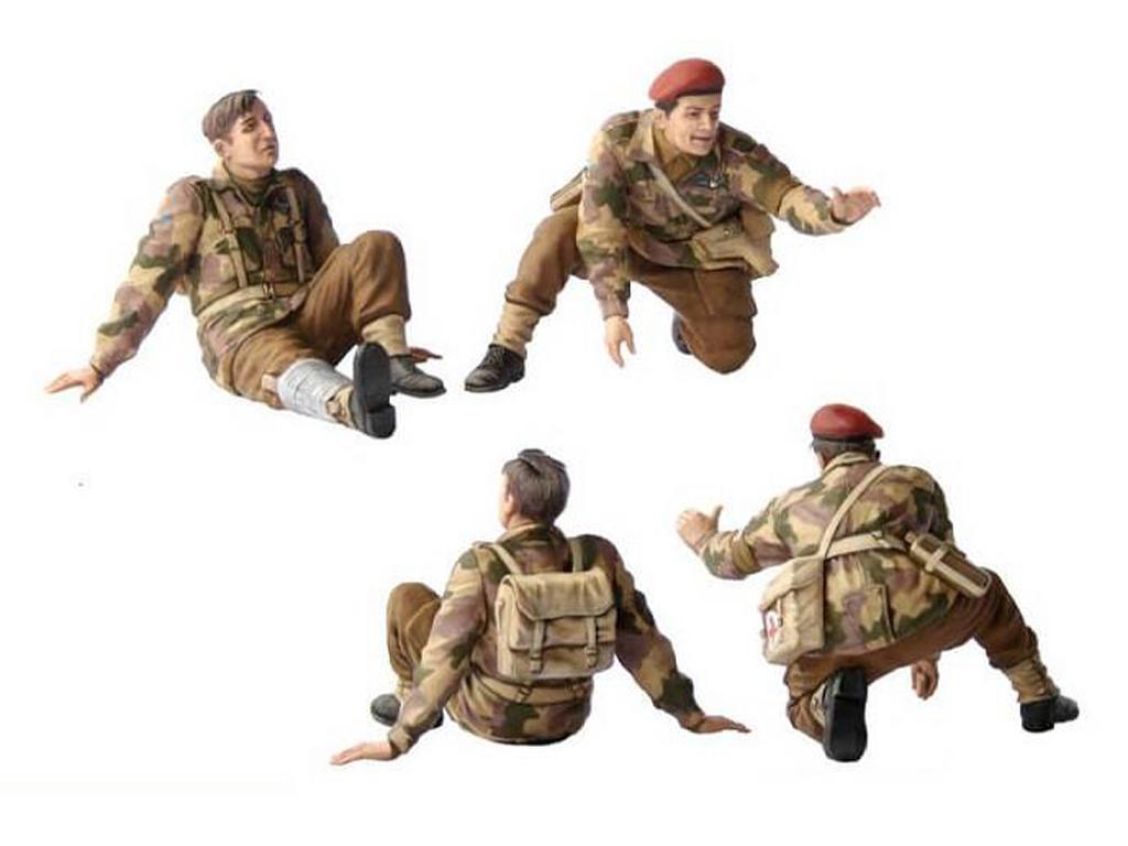 Paracaidistas Britanicos, Rigid Landing (Vista 5)