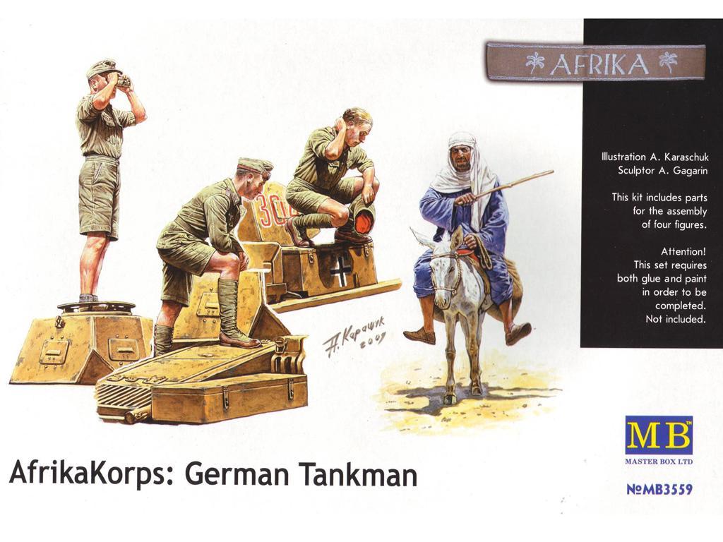 Deutsches Afrika Korps, WWII Era  (Vista 1)