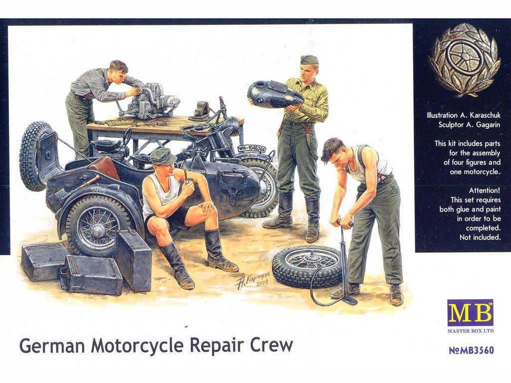 Mecanicos Alemanes (Vista 1)