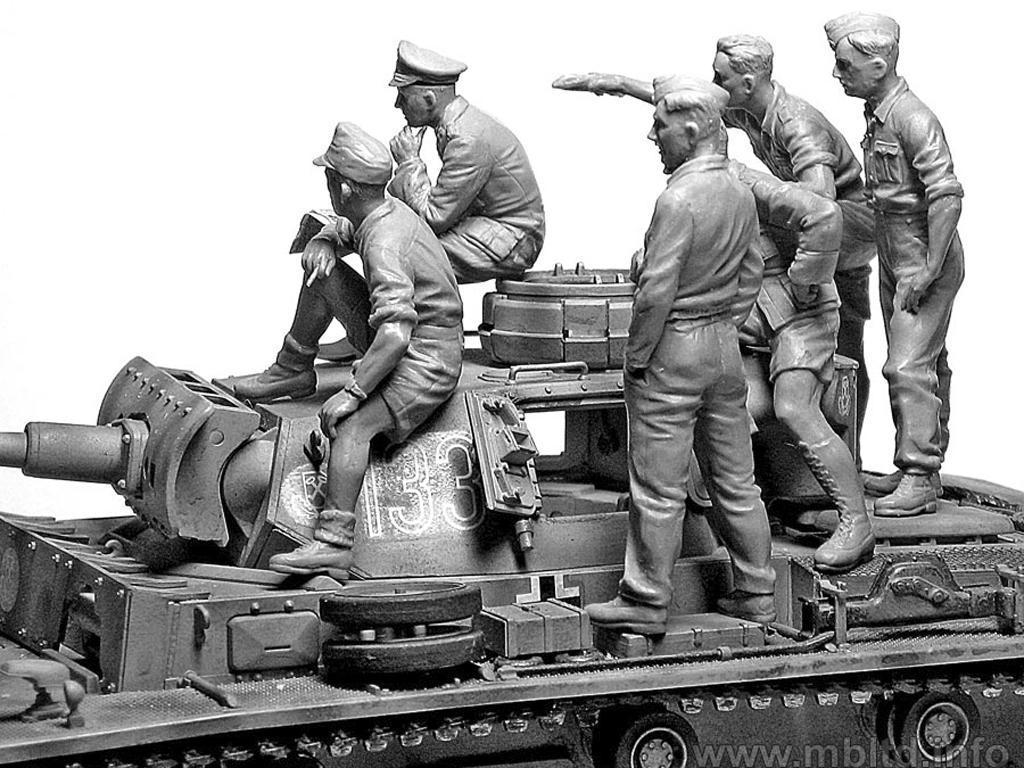 Rommel y carristas Afrika Korps  (Vista 3)
