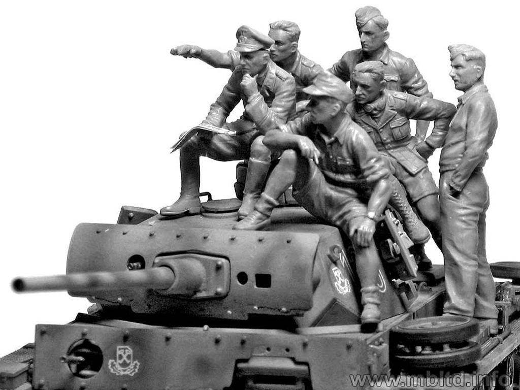 Rommel y carristas Afrika Korps  (Vista 4)