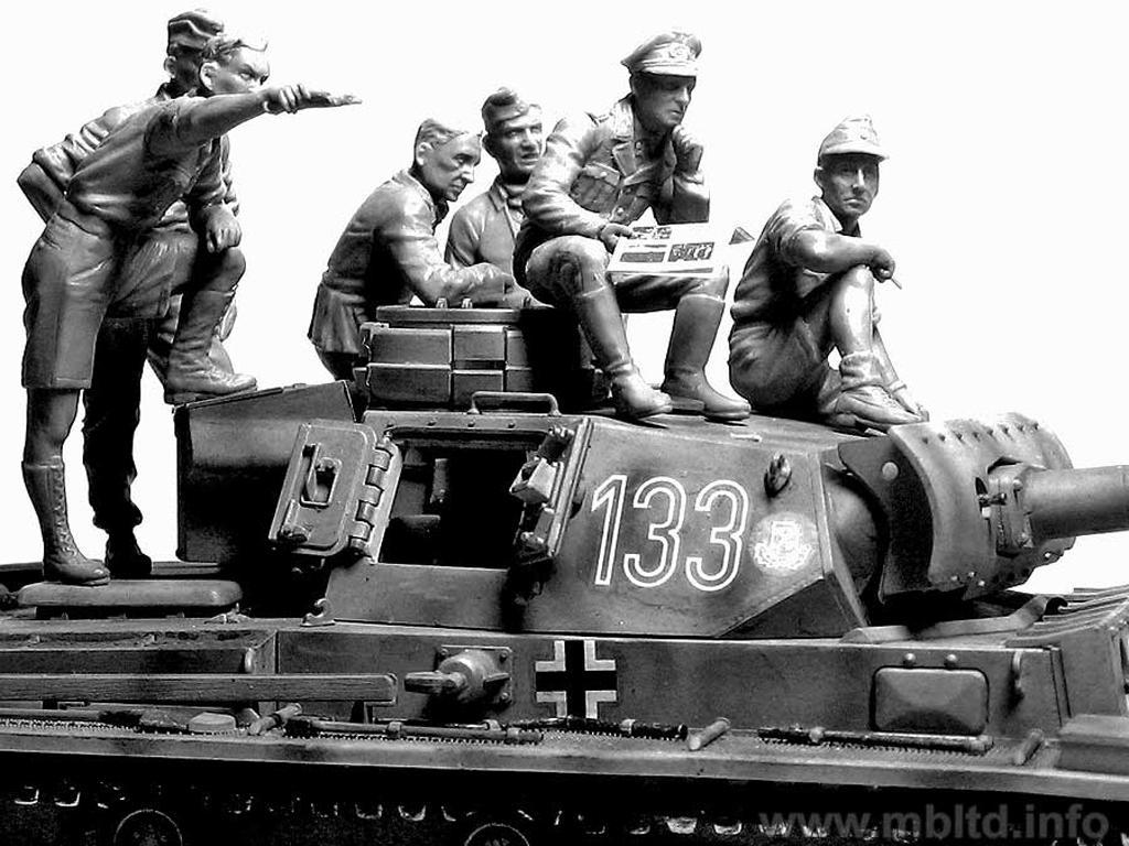 Rommel y carristas Afrika Korps  (Vista 5)