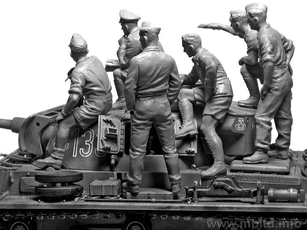 Rommel y carristas Afrika Korps  (Vista 6)