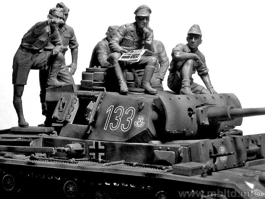 Rommel y carristas Afrika Korps  (Vista 7)