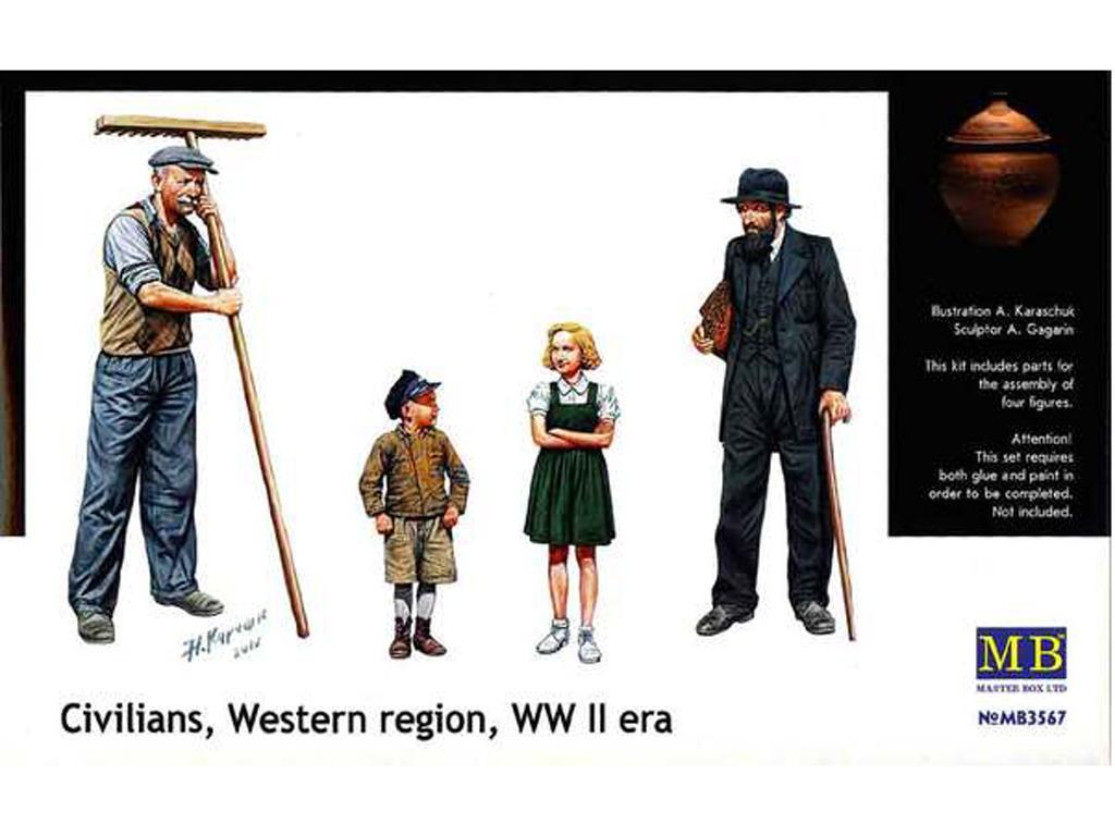 Civiles, Centroeuropa 2ªG.M. (Vista 1)