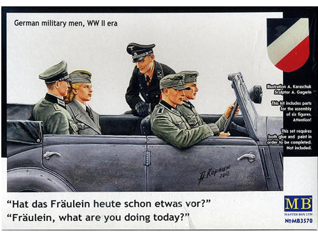 Oficiales Alemanes para Vehiculos (Vista 1)