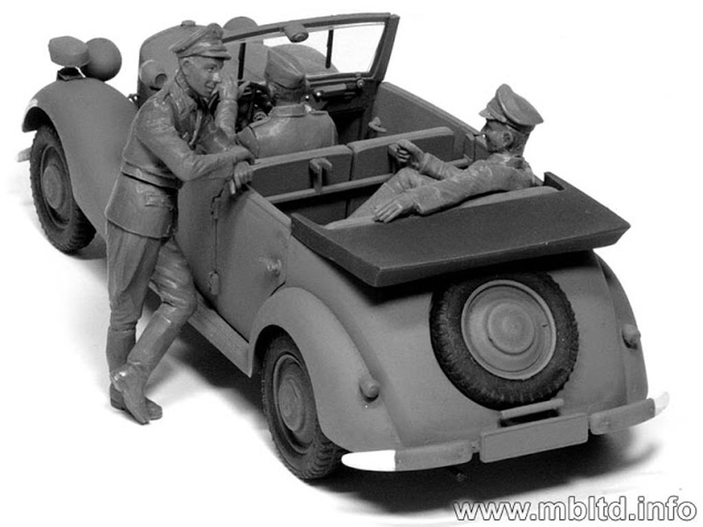 Oficiales Alemanes para Vehiculos (Vista 2)