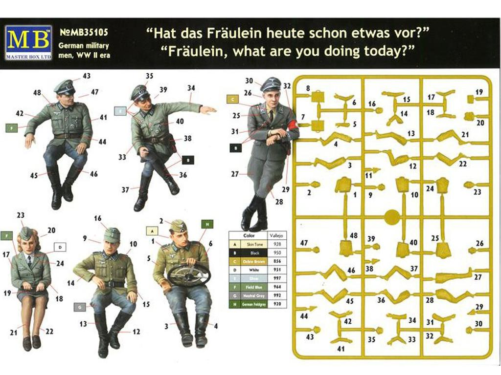 Oficiales Alemanes para Vehiculos (Vista 3)
