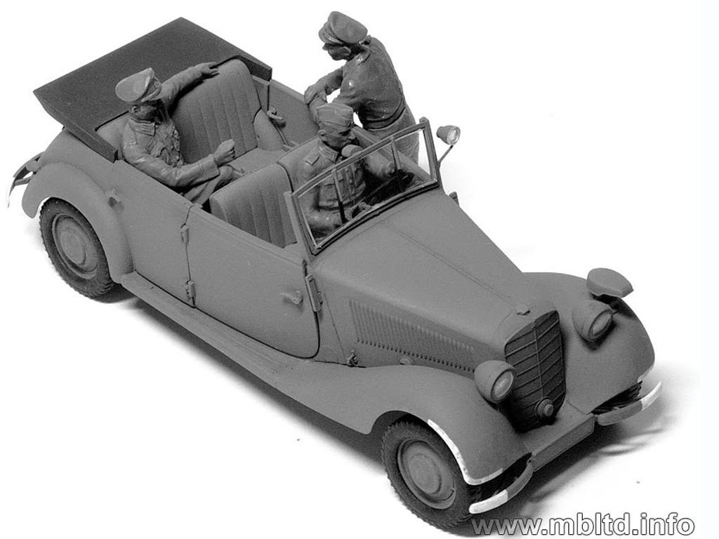 Oficiales Alemanes para Vehiculos (Vista 4)