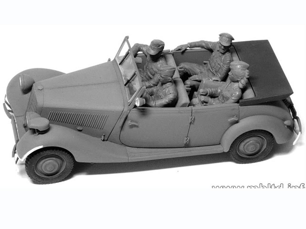 Oficiales Alemanes para Vehiculos (Vista 5)
