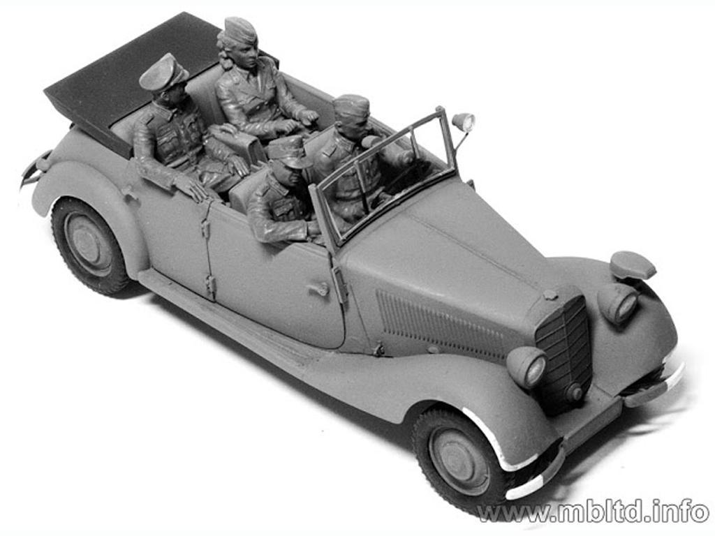 Oficiales Alemanes para Vehiculos (Vista 6)
