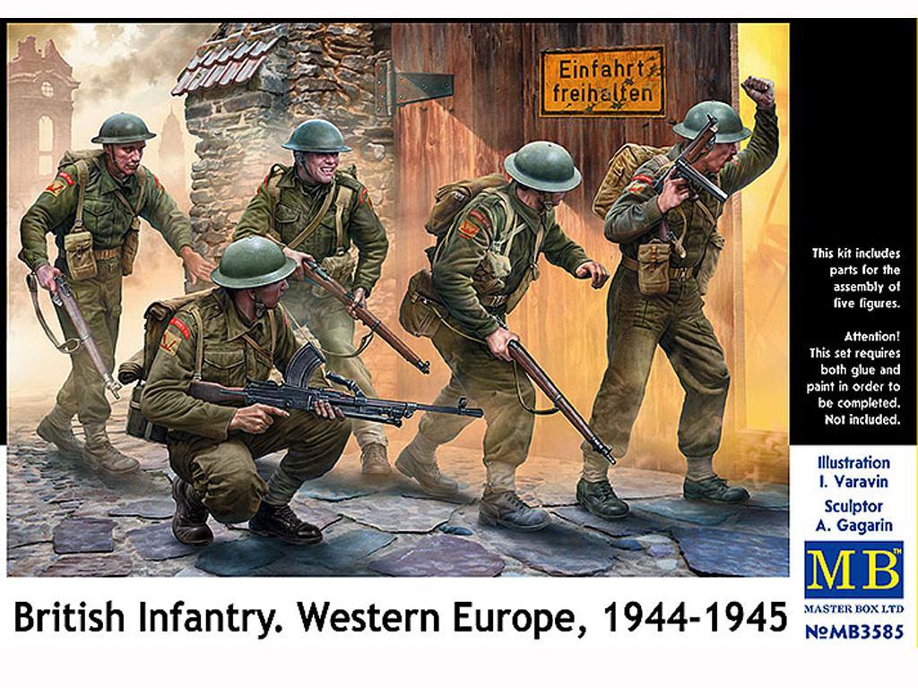 Infantería Británica. Europa Occidental. 1944-1945 (Vista 1)