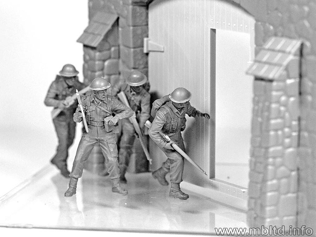 Infantería Británica. Europa Occidental. 1944-1945 (Vista 2)