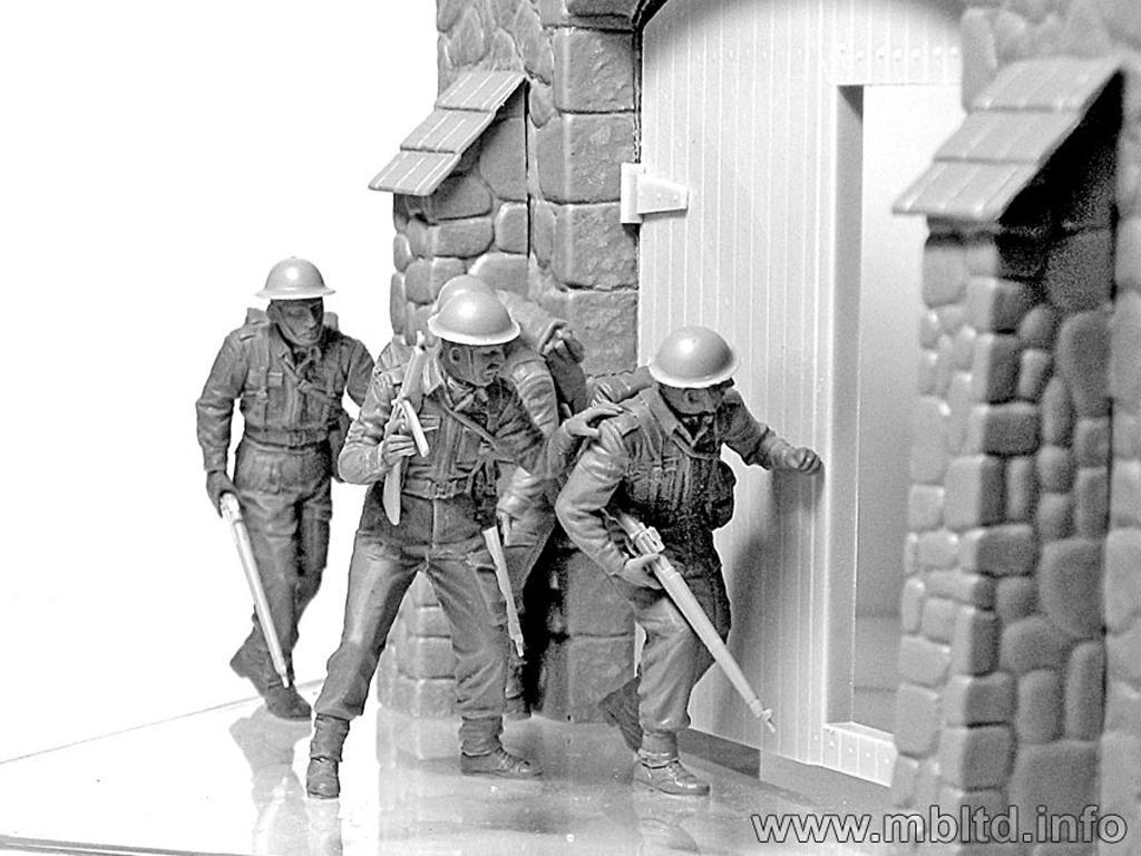 Infantería Británica. Europa Occidental. 1944-1945 (Vista 5)