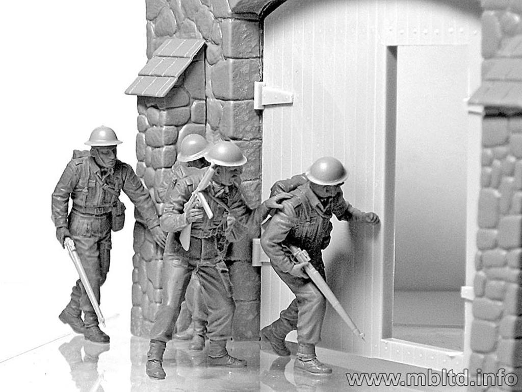 Infantería Británica. Europa Occidental. 1944-1945 (Vista 6)