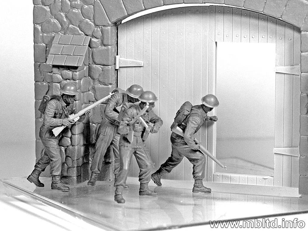 Infantería Británica. Europa Occidental. 1944-1945 (Vista 7)