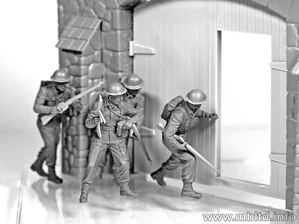 Infantería Británica. Europa Occidental. 1944-1945 (Vista 8)