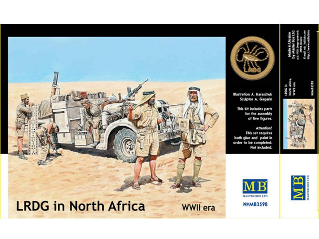 LRDG in North Africa (Vista 1)