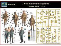 Soldados Britanicos y Alemanes, Batalla de Somme 1916 (Vista 7)