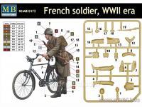 Soldado Frances con Bicicleta 1940 (Vista 4)