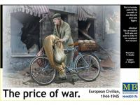 Civil Europeo en Bicicleta 1945  (Vista 7)
