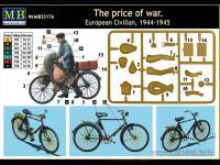 Civil Europeo en Bicicleta 1945  (Vista 9)