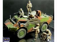 Soldados Alemanes Modernos (Vista 10)