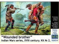 Hermano herido. Serie de Guerras Indias (Vista 9)
