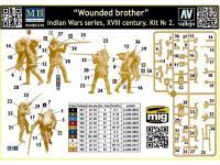 Hermano herido. Serie de Guerras Indias (Vista 11)