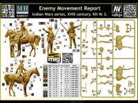 Informe sobre el movimiento del enemigo  (Vista 9)