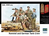 Rommel y carristas Afrika Korps  (Vista 8)
